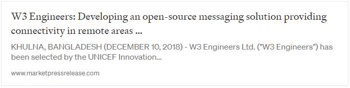 open source messaging in marketpressrelease