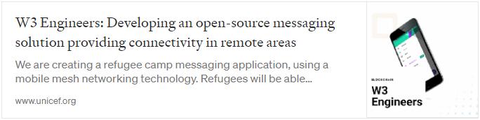 open source messaging in unicef